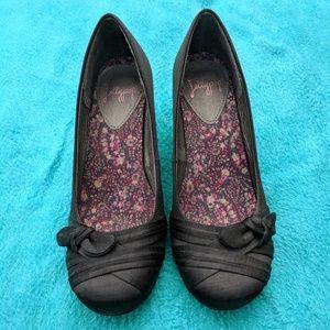 🎉Any 5$ Item 🆓 or Offer 5$ ⬇️ Black heels